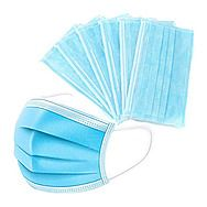 50 Pack 3-Layer Disposable Comfort Face Masks