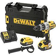 DeWalt DCD996P2 18V XR Brushless Combi Hammer Drill 2 x 5.0Ah Batteries