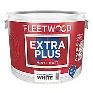 Fleetwood Extra Plus Vinyl Matt Brilliant White 10L