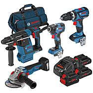 Bosch 0615990L0P 4 Piece 18v ProCore Brushless Kit