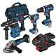 Bosch 0615990L0P 4 Piece 18v ProCore Brushless Kit