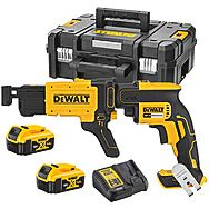DeWalt DCF620P2K 18V Brushless Collated Drywall Screwdriver 2 x 5.0Ah Batteries