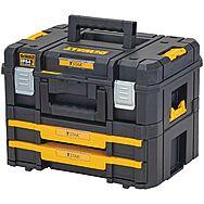 DeWalt DWST83395-1 T-Stak 2.0 Combo Kit Box & Twin Drawer TStak