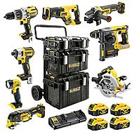 DEWALT DCK853P4RGL 8 Piece ALL Brushless 18V Powertool Kit 4 x 5.0Ah