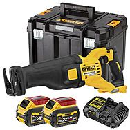 DeWalt DCS389T2 54V FlexVolt High Power Reciprocating Saw 2 x 6.0Ah Batteries