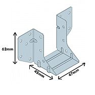 Simpson LUP 230/47 Light 'U' Joist Hanger