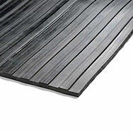 Ribbed 5mm Rubber Matting 1m x 1m