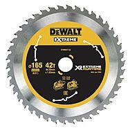DeWalt DT99561 165mm x 20mm x 42T XR Circular Saw Blade (Suits DCS520)