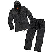 Scruffs Black Rain Suit