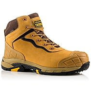 Buckbootz Tradez BLITZ HY Lightweight Waterproof Honey Safety Boots