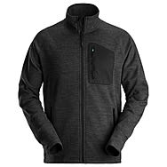 Snickers 8042 FlexiWork Black Fleece Jacket