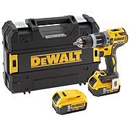 Dewalt DCD796P2 18V Brushless Combi Drill 2 x 5.0Ah Batteries