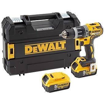 Picture of Dewalt DCD796P2 18V Brushless Combi Drill 2 x 5.0Ah Batteries