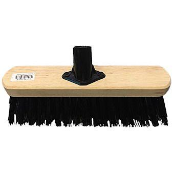 """10"""" PVC Broom & Screw In Handle"""