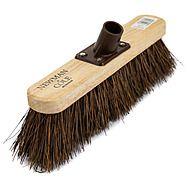 "10"" Bassine Broom & Screw In Shaft"