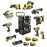 DEWALT 9 Piece ALL Brushless 18V Kit 4 x 5.0Ah (DCK853P4 + DCP580)