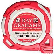 Ray Grahams Branded - 5m/16ft Tape Measure