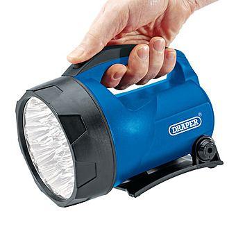 Draper 66014 LED Lantern Torch & 6V Battery