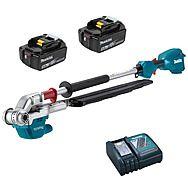 Makita DUN500WRTE 18v Long Reach Pole 50cm Hedge Trimmer 2 x 5.0Ah Batteries