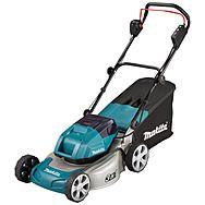 Makita DLM460Z 36v (18v x2) 46cm Cordless Lawn Mower Steel Deck Lawnmower Body Only