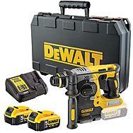 DeWalt DCH273P2 18v XR Brushless Rotary Hammer Drill SDS+ 2 x 5.0Ah Batteries DCH273