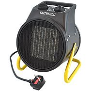 Faithfull FPPHEAT28KWC 2.8KW Electric Ceramic Fan Heater