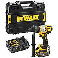 DeWalt DCD999T1 18v XR Combi Hammer Drill With FlexVolt Advantage - 6.0Ah Battery