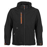 Herock Black Trystan Softshell Jacket