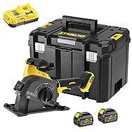 DEWALT DCG200T2 54V FlexVolt XR Wall Chaser 2 x 6.0Ah Batteries
