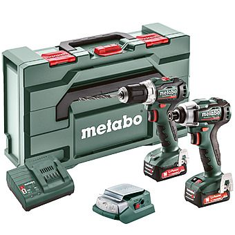 Picture of Metabo COMBO SET 2.7.3 12 V BL PowerMaxx Impact Driver & Drill 2 x 2.0Ah 12v Batteries | 685168000