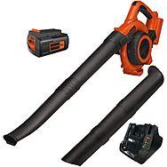 Black & Decker Cordless 36v Leaf Blower Vacuum GWC3600L