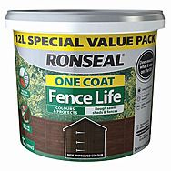 Ronseal One Coat Fence Life 12 Litre