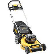 DeWalt DCMW564P2 18v XR 48cm Brushless Lawnmower & 2x 5.0Ah Batteries | Lawn Mower