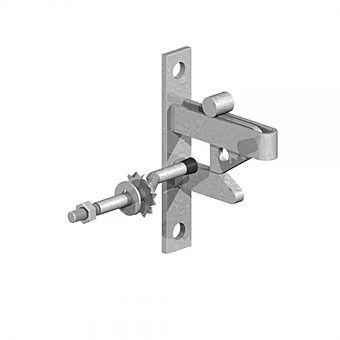 Birkdale 0390001 Galvanised Self Locking Gate Catch Kit