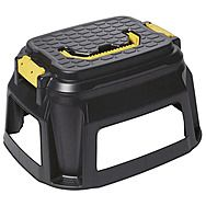 Step Stool With Tool Storage Caddy