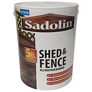 Sadolin 5L Shed & Fence All Weather Barrier Wood Stain Treatment
