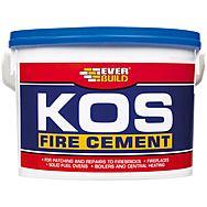 Everbuild KOS Black Fire Cement Jumbo 12.5KG