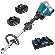 Makita DUX60PT2 36v (18v x2) Split Shaft Garden Multi-Tool & 2 x 5.0Ah Batteries