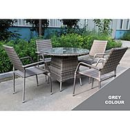 4 Seat Patio Set With Round Table