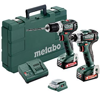 Picture of Metabo COMBO SET 2.7.3 12 V BL PowerMaxx Impact Driver & Drill 2 x 2.0Ah 12v Batteries | 685168000