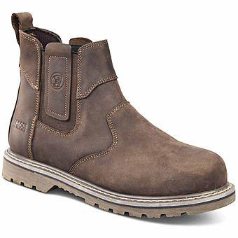 Picture of Apache Crater Safety Steel Toe Dealer Boots