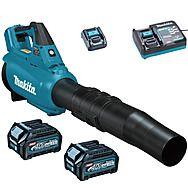 Makita UB001GD201 XGT 40Vmax High Power Blower 2 x 2.5Ah Batteries
