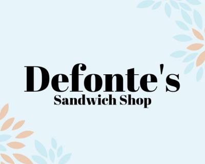 Defonte's Sandwich Shop