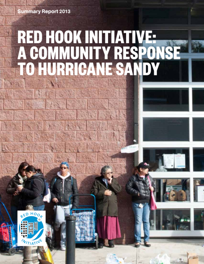 A Community Response to Hurricane Sandy