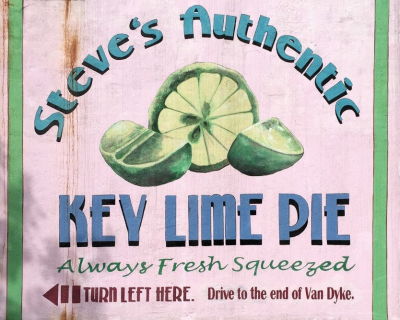 Steve's Authentic Key Lime Pie