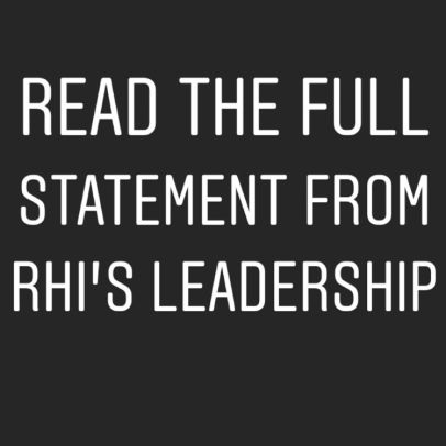 """We have to ask ourselves, """"What have we done at RHI to say Black Lives Matter?"""""""