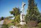 Ein weißes Kreuz bei Waldberg