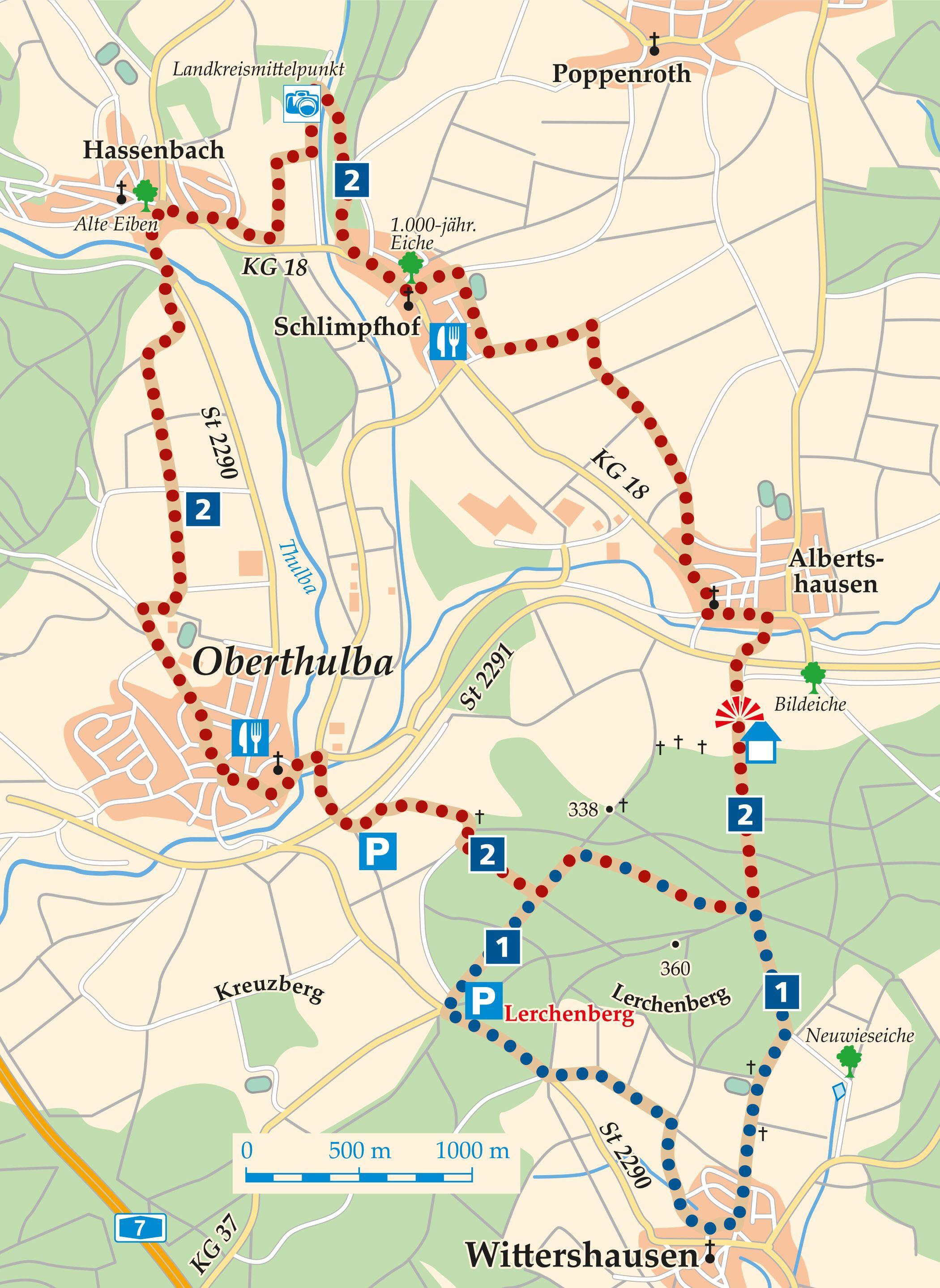 Rhön-Rundweg 2 Oberthulba