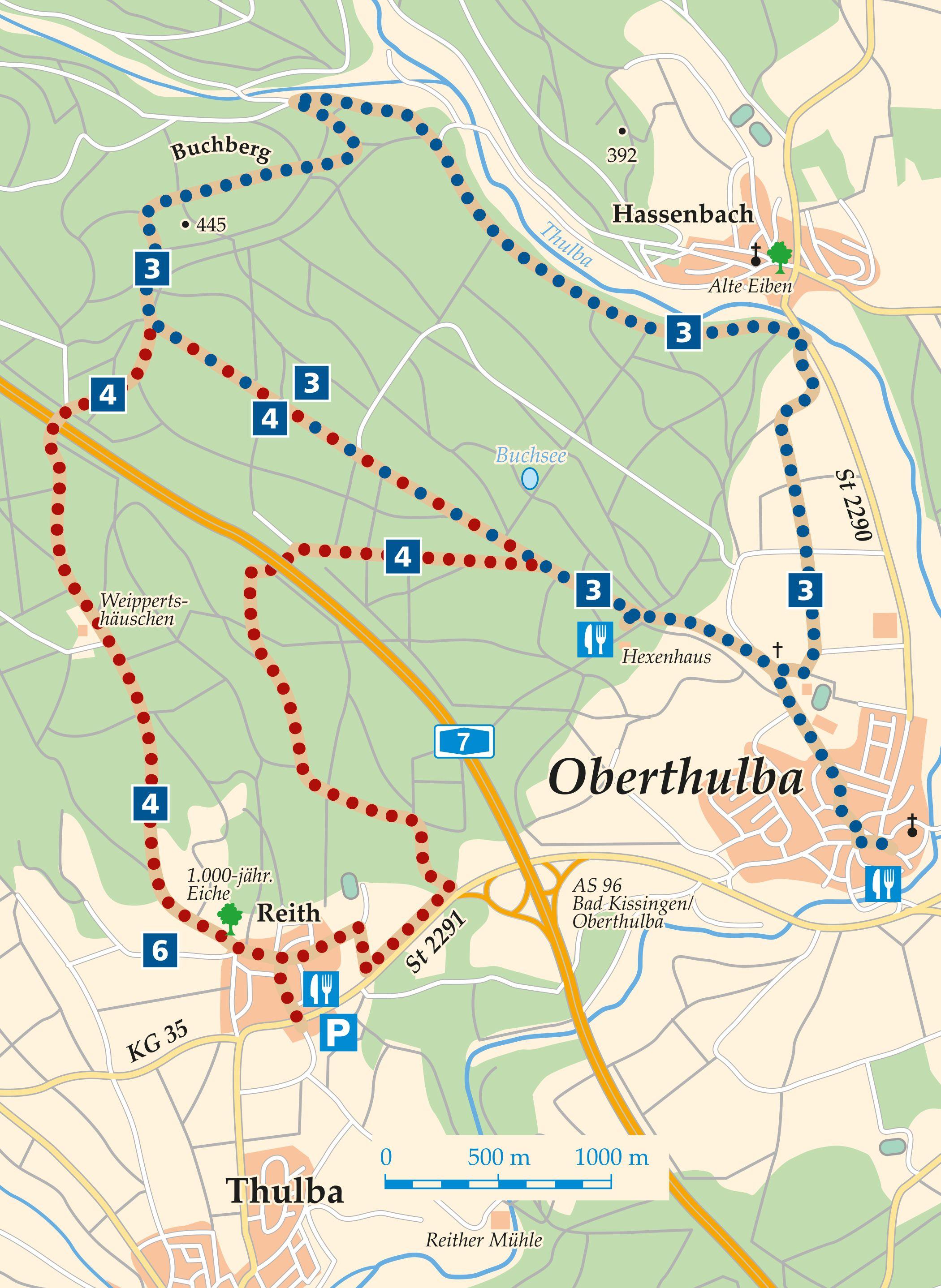 Rhön-Rundweg 3 Oberthulba