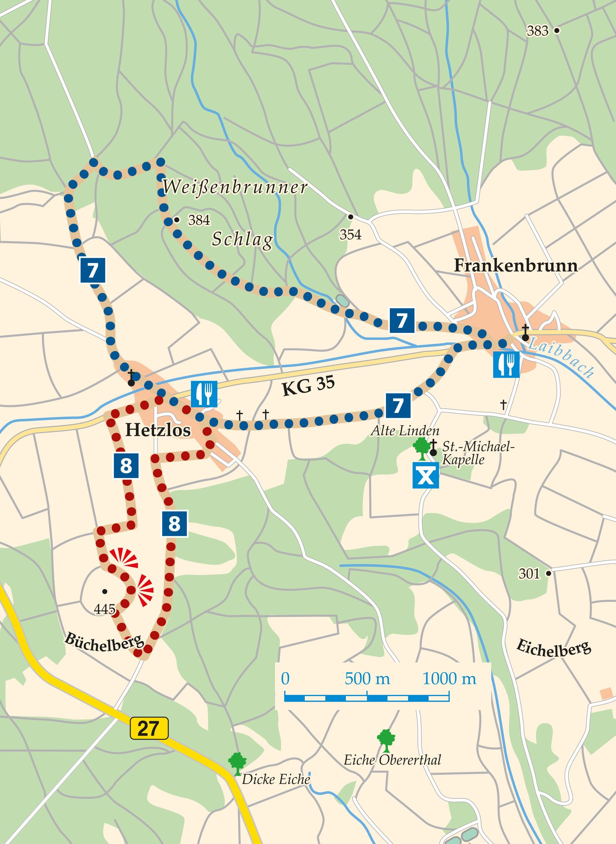 Rhön-Rundweg 8 Oberthulba Hetzlos